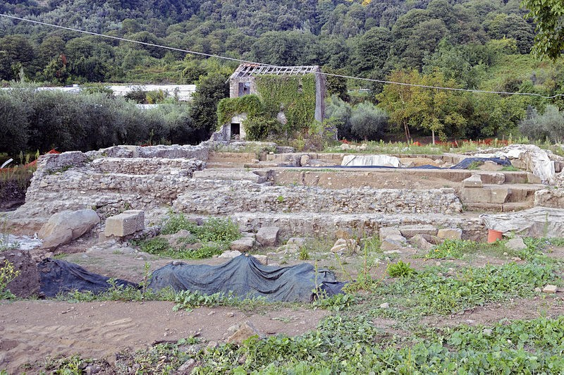 Weird Italy Rests-of-Temple-of-Diana-in-Nemi Ancient Pagan Temple of Diana, Nemi Italian History Magazine What to see in Italy  temple of diana roman history pagan temple nemi trip nemi travel nemi Lazio Diana Nemorensis