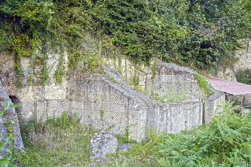 Weird Italy Walls-of-Temple-of-Diana-in-Nemi Ancient Pagan Temple of Diana, Nemi Italian History Magazine What to see in Italy  temple of diana roman history pagan temple nemi trip nemi travel nemi Lazio Diana Nemorensis
