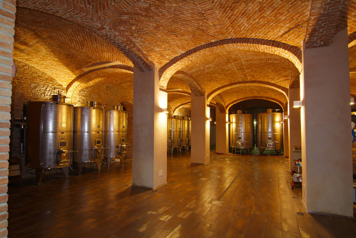 Weird Italy cantina-gancia004 Amazing Underground Cathedrals in Canelli Magazine What to see in Italy  wine underground cathedrals tuff spumante piemonte italian wine gancia canelli asti