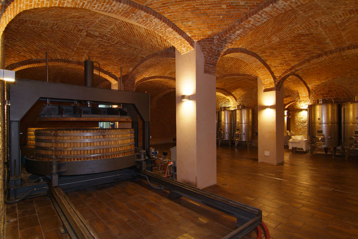 Weird Italy cantina-gancia006 Amazing Underground Cathedrals in Canelli Magazine What to see in Italy  wine underground cathedrals tuff spumante piemonte italian wine gancia canelli asti