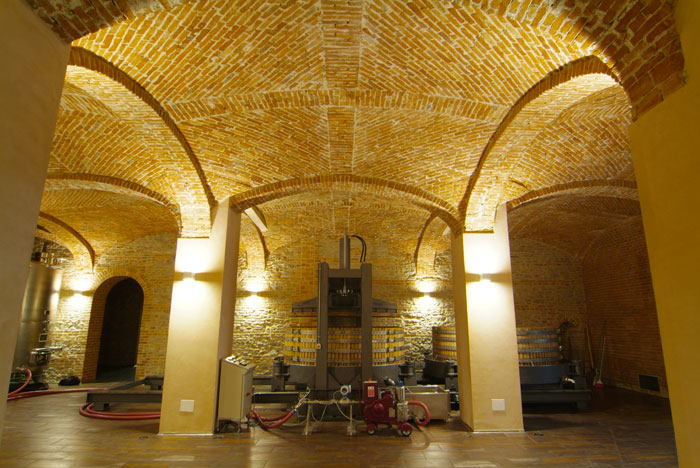 Weird Italy cantina-gancia007 Amazing Underground Cathedrals in Canelli Magazine What to see in Italy  wine underground cathedrals tuff spumante piemonte italian wine gancia canelli asti