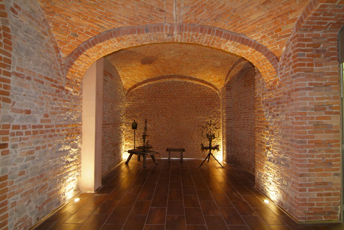 Weird Italy cantina-gancia008 Amazing Underground Cathedrals in Canelli Magazine What to see in Italy  wine underground cathedrals tuff spumante piemonte italian wine gancia canelli asti