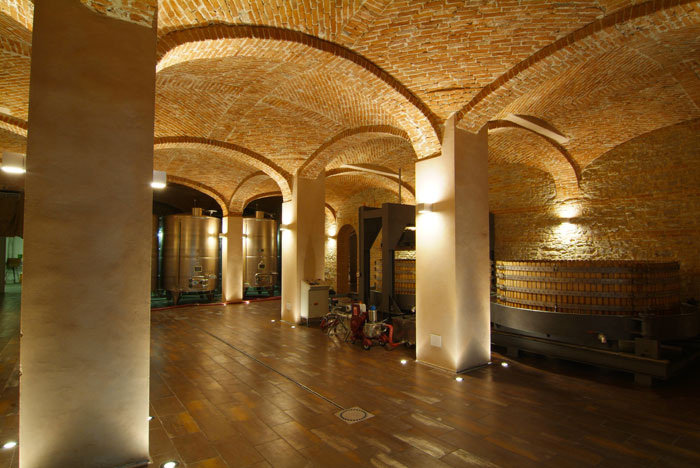 Weird Italy cantina-gancia009 Amazing Underground Cathedrals in Canelli Magazine What to see in Italy  wine underground cathedrals tuff spumante piemonte italian wine gancia canelli asti