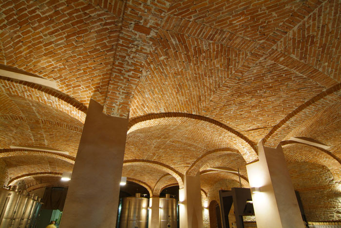 Weird Italy cantina-gancia010 Amazing Underground Cathedrals in Canelli Magazine What to see in Italy  wine underground cathedrals tuff spumante piemonte italian wine gancia canelli asti