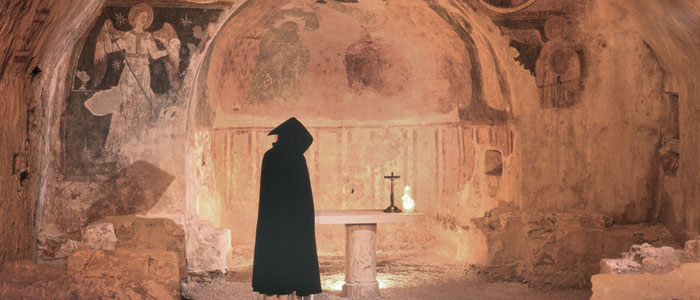 Weird Italy narni-title Narni underground: The mysterious Inquisition Trial and the Room of Torment in Narni Italian History Magazine What to see in Italy  utec Umbria torture room torture room of torment roman aqueduct narni underground Marco Cocceio Nerva inquisition trial