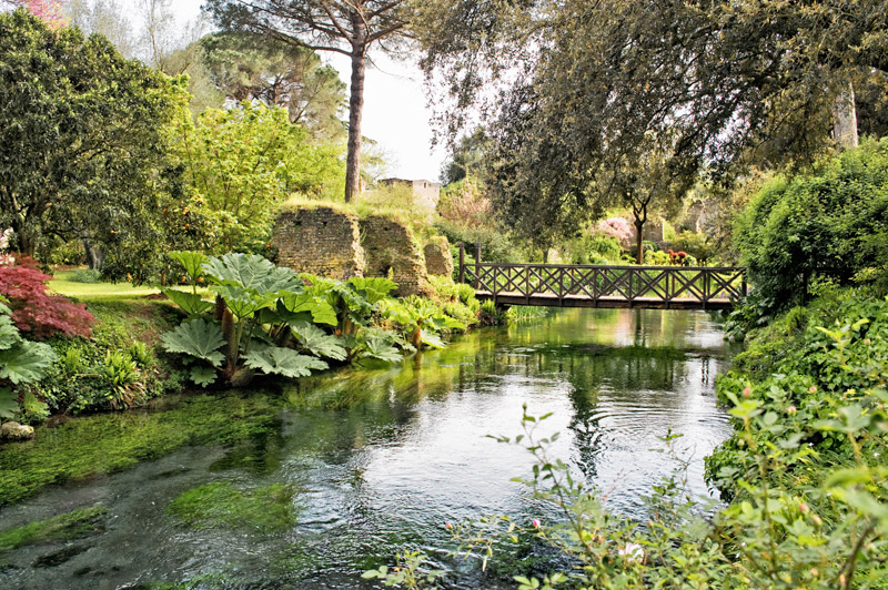 Weird Italy ninfa-garden 5 Spots To Go Off The Beaten Path In Italy What to see in Italy