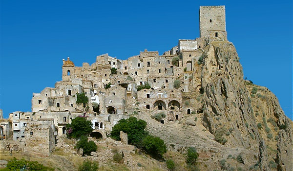Weird Italy craco-title Craco Medieval Ghost Town Italian History Magazine What to see in Italy  landslides ghost town craco basilicata