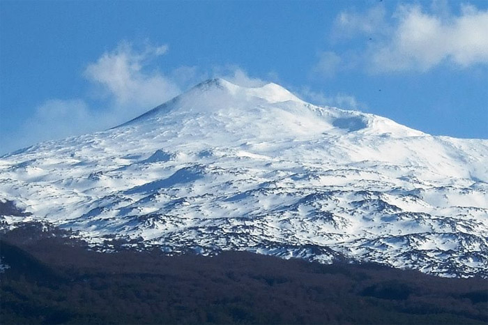 Mount Etna largest active Volcano in Europe