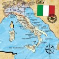 Weird Italy italy-vector-map-5-120x120 Map of unique places in Italy Featured Magazine Nature in Italy What to see in Italy  vesuvious venice sicily sardinia rome Pompeii naples map italy
