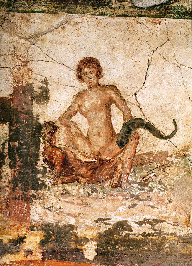 Weird Italy pompei-11 30 Amazing pictures of Pompeii Featured Italian History Magazine What to see in Italy  romans Pompeii Pliny the Younger Pliny the Elder Mount Vesuvius Imperial Rome Herculaneum graffiti erotic graffiti campania 79 AD