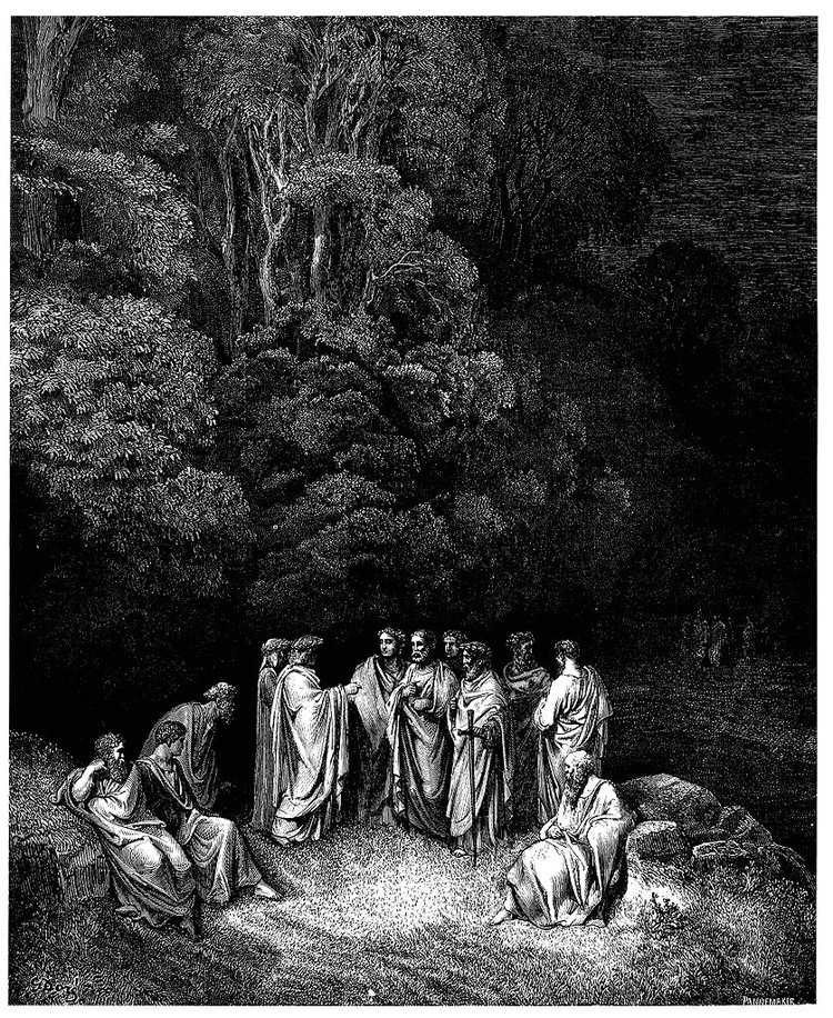 Weird Italy inferno-12 42 astonishing Dante's Inferno illustrations by Gustave Doré Italian History Magazine  tuscany the divine comedy souls purgatory lost souls la divina commedia inferno illustrations hell heaven gustave doré