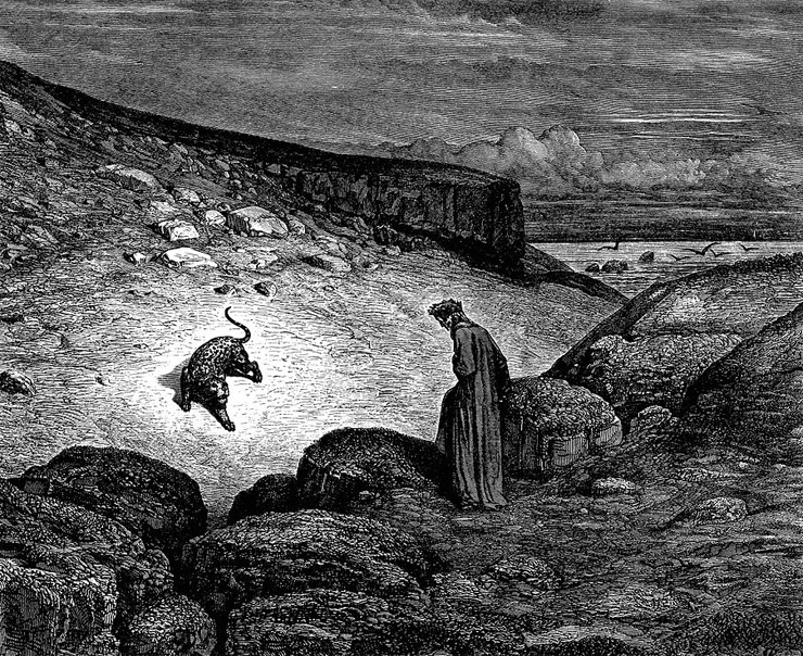 Weird Italy inferno-2 42 astonishing Dante's Inferno illustrations by Gustave Doré Italian History Magazine  tuscany the divine comedy souls purgatory lost souls la divina commedia inferno illustrations hell heaven gustave doré
