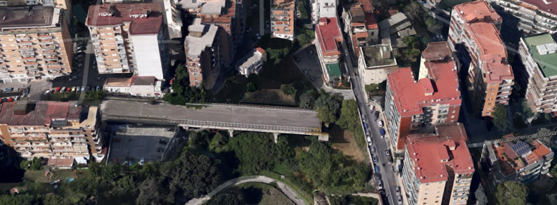 Weird Italy san-giacomo-intro The bridge to nowhere in Naples Featured Italy Crime News and Criminal Investigations Magazine  San Giacomo dei Capri bridge napoli Jacopo Fo campania bridge architecture