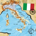 Italy, Country Map and Statistics