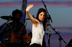 Weird Italy 2016-06-19T122801Z_2_LYNXNPEC5H0LM_RTROPTP_3_ITALY-VOTE-MAYORS-300x197 Virginia Raggi, 5-Star Movement candidate for Rome's mayor, waves on stage during a rally in Ostia, near Rome