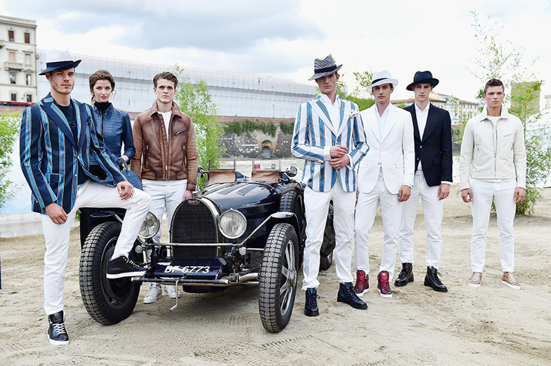 Weird Italy bugatti-LUISAVIAROMA-001 Bugatti enters collaboration with LUISAVIAROMA Featured Italian Luxury & Fashion  Pitti Uomo LUISAVIAROMA fashion Bugatti Bridge of Love autumn/winter 2016 collection