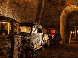 The Galleria Borbonica, Tunnel Borbonico or Bourbon Tunnel