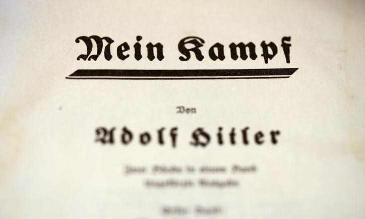 "Weird Italy mein-kampf Italian newspaper ""Il Giornale"" draws criticism with Hitler's 'Mein Kampf' giveaway Latest Italian News and Videos  Nazism Mein Kampf Italian newspaper Il Giornale Alessandro Sallusti Adolf Hitler"
