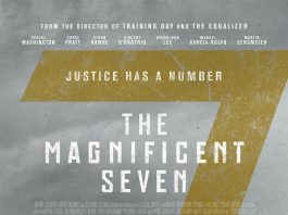 """""""The Magnificent Seven"""" poster"""
