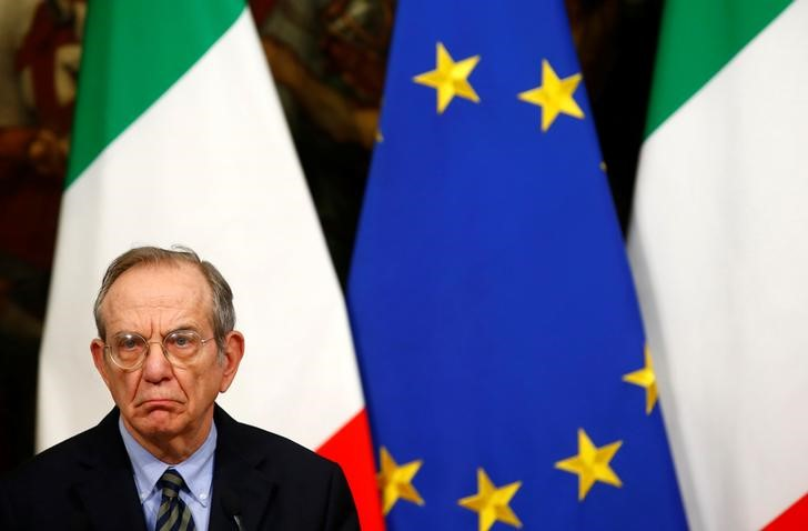 Weird Italy 2016-12-01T180423Z_1_LYNXMPECB02ZR_RTROPTP_3_ITALY-REFERENDUM-RENZI Italy 'No' vote will make it harder for banks to raise money - economy min Latest Italian News and Videos  referendum Pier Carlo Padoan Monte dei Paschi di Siena