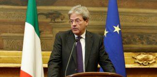 Italian Prime Minister Gentiloni