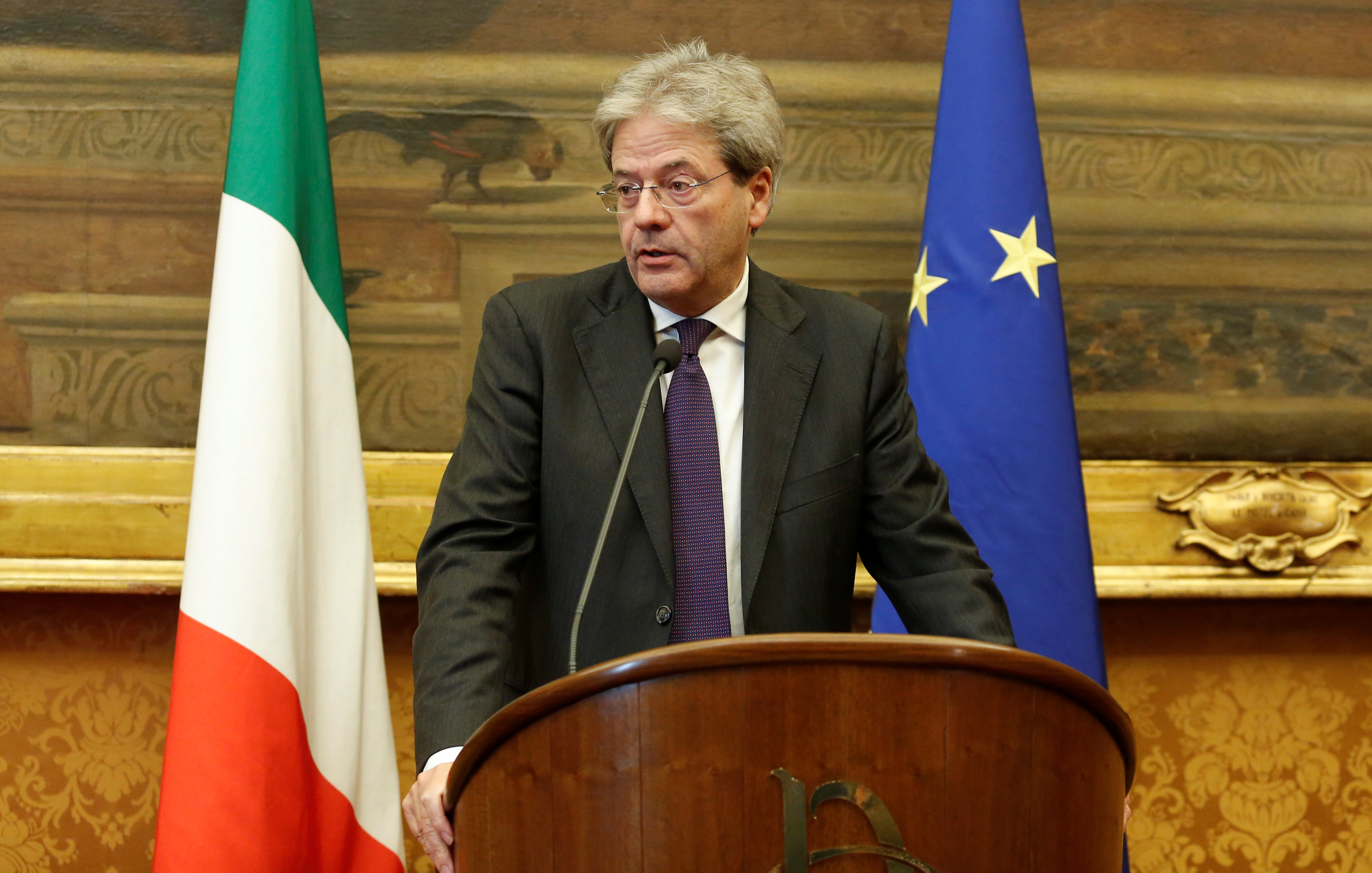 Weird Italy 2016-12-12T180812Z_2_LYNXMPECBB118_RTROPTP_4_ITALY-POLITICS Italian PM unveils new government, but centre-right ally threatens to quit Latest Italian News and Videos  Paolo Gentiloni matteo renzi Italian Prime Minister