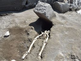 skeleton-pompeii