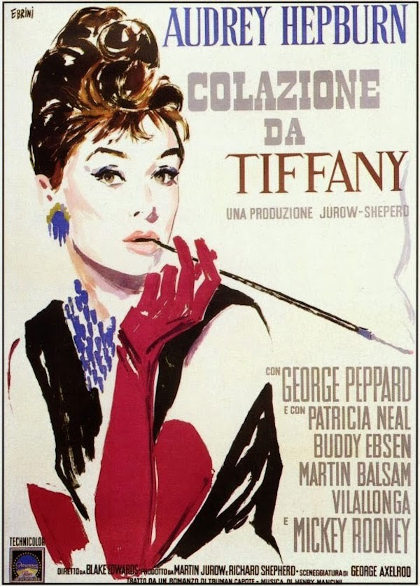 Weird Italy breakfast-at-tiffany The amazing Movie Posters of Silvano Campeggi Cinema Italian Art, Design & Photography Italian People  movie posters design
