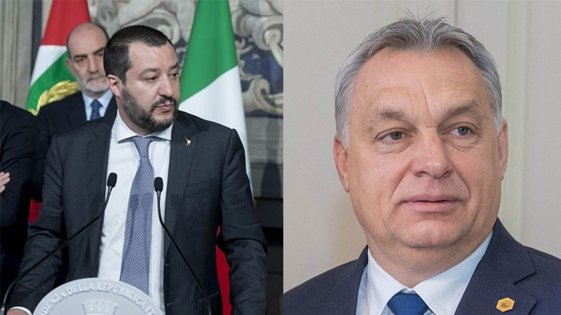 "Weird Italy salvini-orban-meeting Orban-Salvini, meeting in Milan: ""Together to change the EU"" Latest Italian News and Videos  matteo salvini European Socialist Party European People's Party"