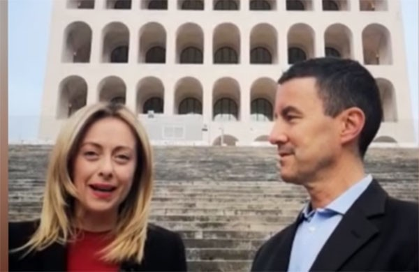 Weird Italy Mussolinis-great-grandson Italian Party nominates Caius Julius Caesar Mussolini: he is Mussolini's great-grandson Latest Italian News and Videos  Giorgia Meloni fascism
