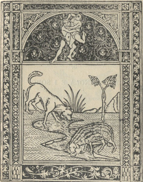 Weird Italy THE-WOLF-AND-THE-LAMB The Wolf And The Lamb, PHÆDRUS Italian Books