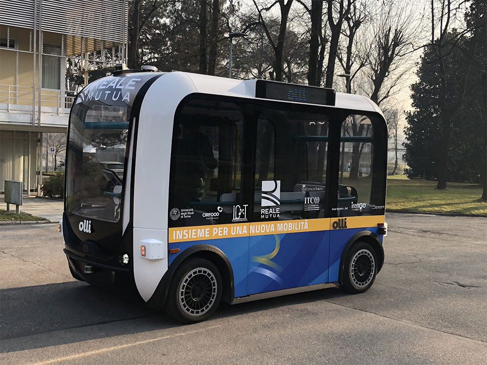Weird Italy The-Deployment-Of-The-Olli-Self-Driving-Shuttle-Starts-In-Turin Mobility And Innovation: The Deployment Of The 'Olli' Self-Driving Shuttle Starts In Turin Latest Italian News and Videos  turin