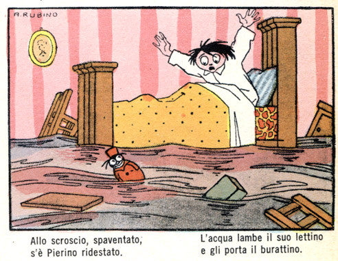 Weird Italy 75C7C839-0219-46A1-B976-7501922A85CD The dreamy illustrations of Antonio Rubino Featured Italian Art, Design & Photography Italian People  Italian comics illustrations Corriere dei Piccoli Antonio Rubino