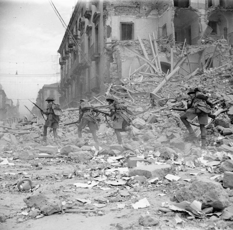 Weird Italy CC2DF0BC-64A3-41ED-BEE2-1FA916166D40 24 Old Photos of the Allied Invasion of Sicily, 1943 Featured Italian History  ww2 World War 2 sicily