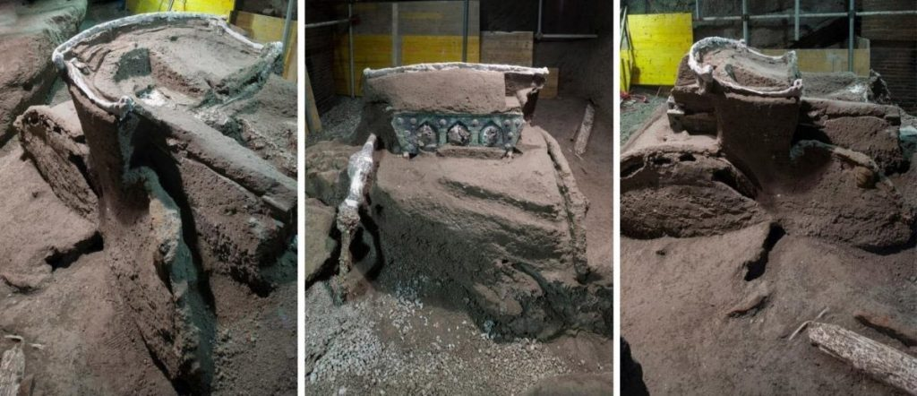 Roman-Chariot-discovered-at-Pompeii