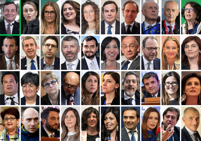 Weird Italy draghi-completes-govt-team-with-19-women-20-men Draghi completes govt team with 19 women, 20 men What happened in Italy today