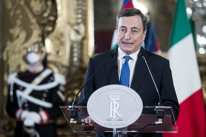 Weird Italy draghi-hopeful-of-responsible-response-from-parties Draghi hopeful of 'responsible' response from parties What happened in Italy today
