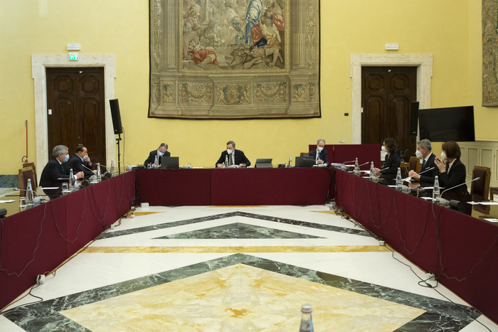 Weird Italy draghi-meets-business-associations-trade-unions Draghi meets business associations, trade unions What happened in Italy today