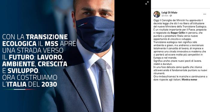 Weird Italy italy-creates-ministry-for-ecological-transition Italy creates Ministry for Ecological Transition What happened in Italy today