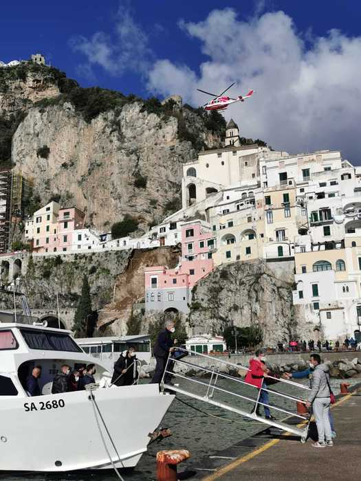 Weird Italy landslide-hits-amalfi-road Landslide hits Amalfi road What happened in Italy today