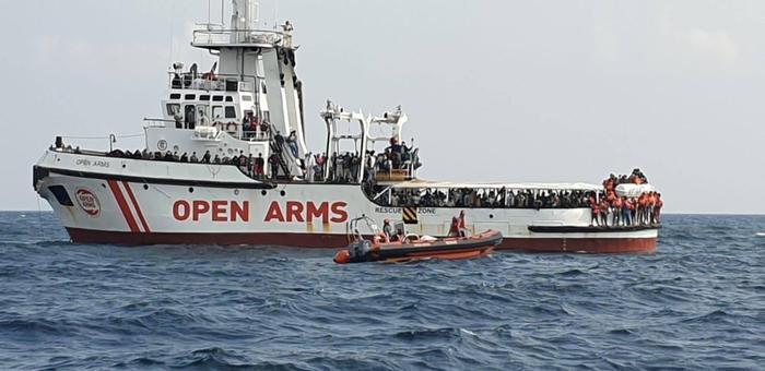 Weird Italy open-arms-migrant-rescue-ship-brings-146-to-porto-empedocle Open Arms migrant rescue ship brings 146 to Porto Empedocle What happened in Italy today