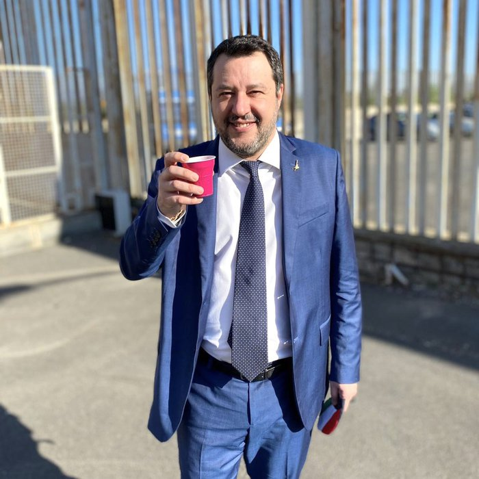 Weird Italy we-decided-on-gregoretti-case-together-salvini We decided on Gregoretti case together - Salvini What happened in Italy today