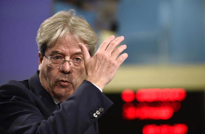 Weird Italy we-will-work-with-draghi-on-reforms-says-gentiloni We will work with Draghi on reforms says Gentiloni What happened in Italy today