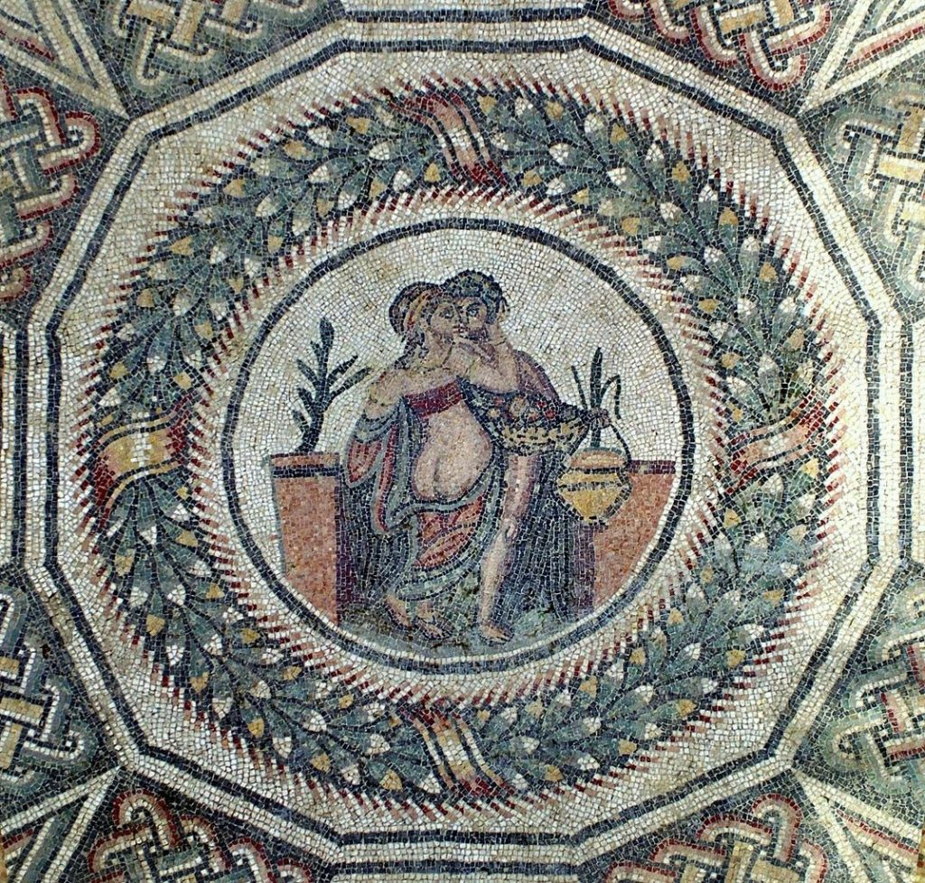 Weird Italy Cupid-and-Psyche-1024x978 The astonishing mosaics of the Roman Villa del Casale Featured Italian History What to see in Italy  romans roman history