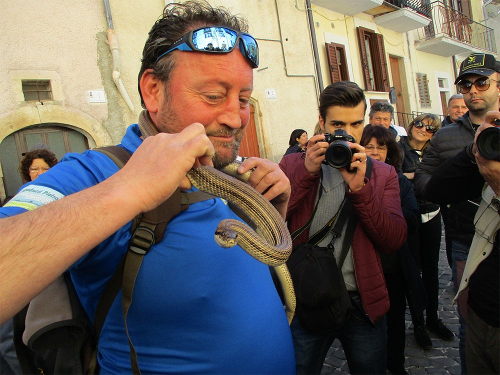 Weird Italy Festival-of-the-Snake-Catchers-5 The Festival of the Snake-Catchers in Italy Featured Italian History What to see in Italy  paganism marsi people folklore catholic abruzzo