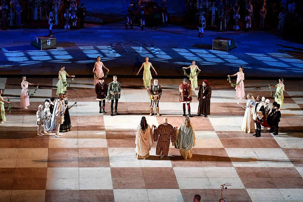 Weird Italy The-Human-Chess-of-Marostica-006 The Human Chess of Marostica, Italy Featured Italian History What to see in Italy  veneto chess