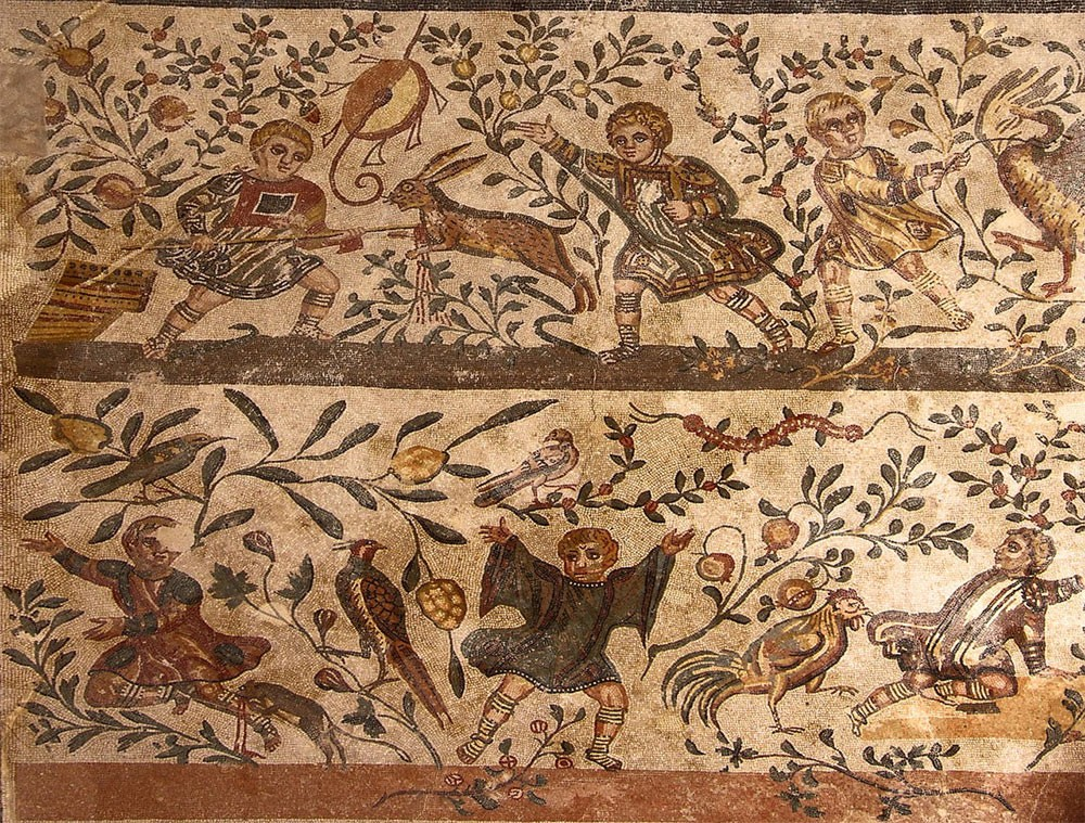 Weird Italy Villa-Romana-del-Casale-Child-Hunters-mosaic-Piazza-Armerina-Sicily The astonishing mosaics of the Roman Villa del Casale Featured Italian History What to see in Italy  romans roman history