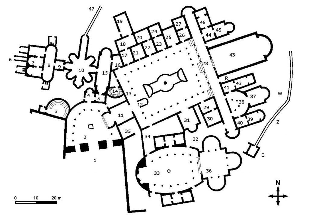 Weird Italy villa-romana-del-casale-map-1024x718 The astonishing mosaics of the Roman Villa del Casale Featured Italian History What to see in Italy  romans roman history