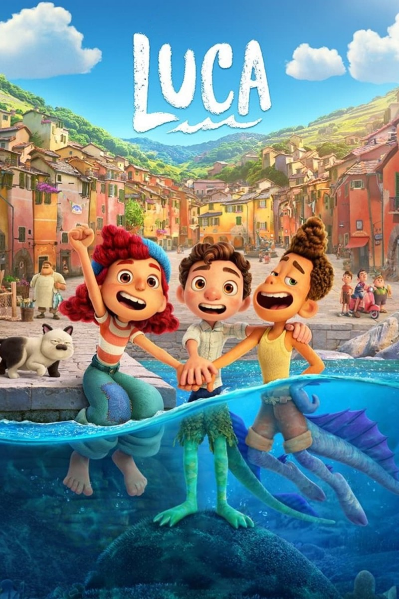 """Poster for the movie """"Luca"""""""