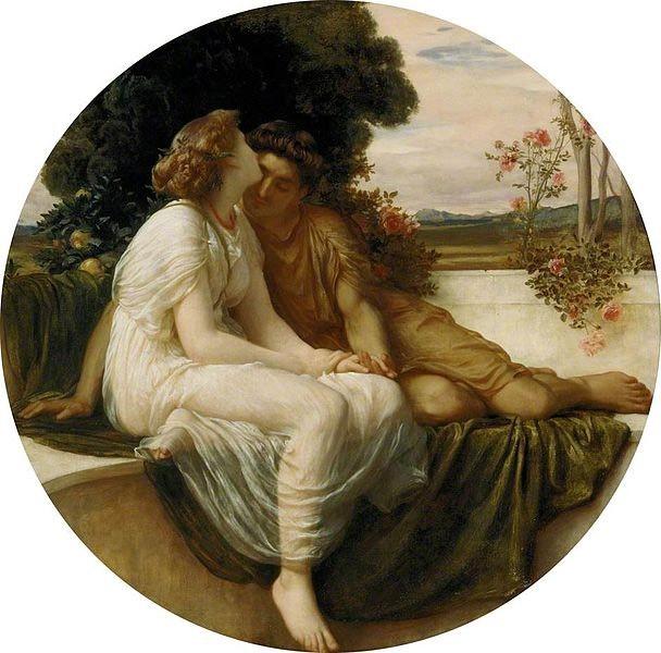 Image: Leighton, Frederic - Acme and Septimius - c. 1868